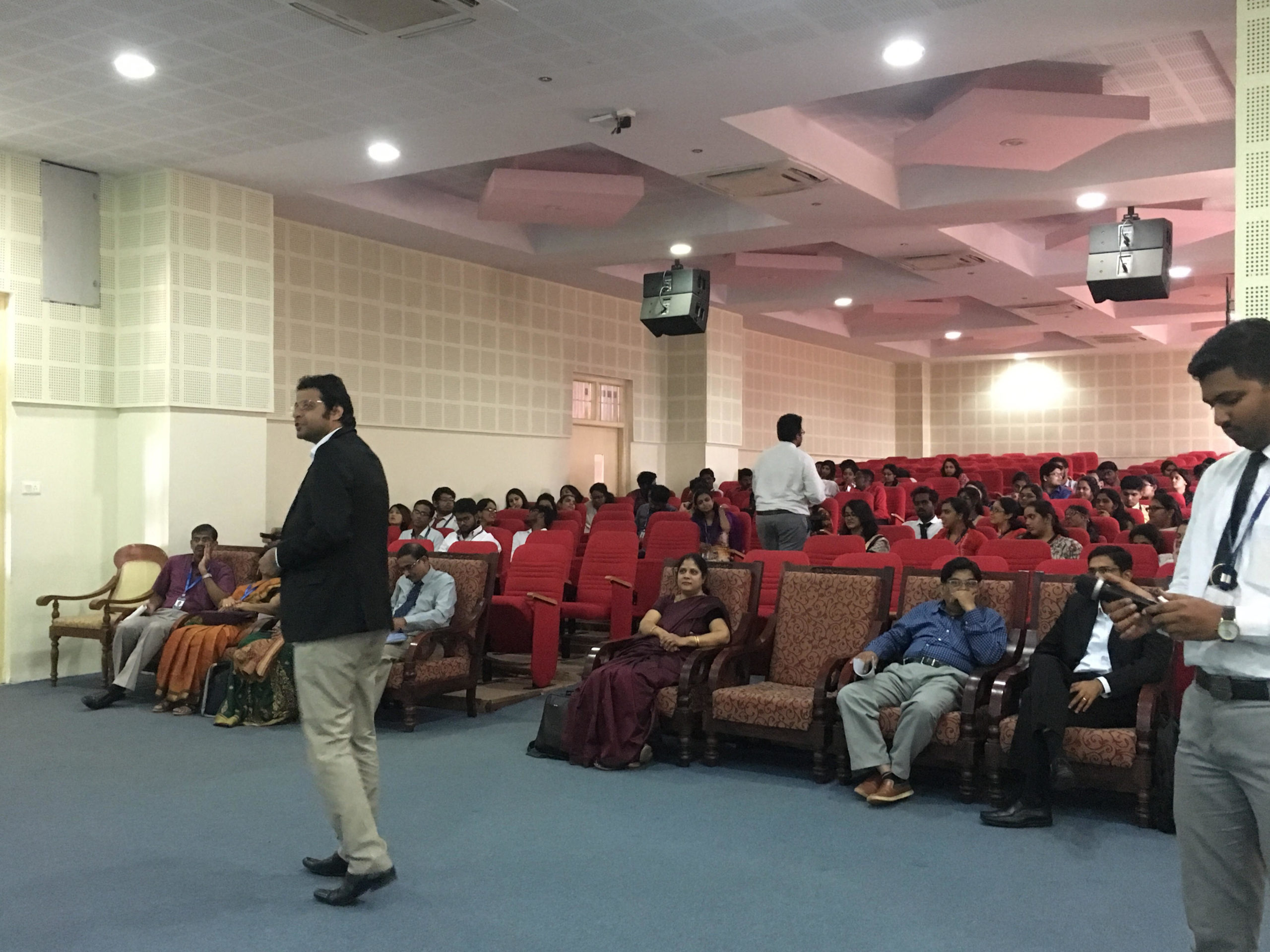 Panel discussion at Christ University on Issues and Challenges in Health Insurance : The Road Ahead
